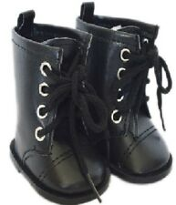 My Brittany's Black Tie Boots For American Girl Dolls