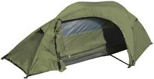 Mil-Tec Recom One Person Army Tent Camping Hiking Festival Travel Shelter ODG