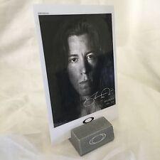 Oakley Shaun White Rare Display Card Brand New Bob Juliet Medusa Cap Case Type 1