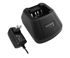 Titan TK-260 Charger for Kenwood KNB-15 Two-Way Radio Battery + POD