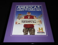 America With Larry the Cable Guy 2011 Framed 11x14 ORIGINAL Advertisement