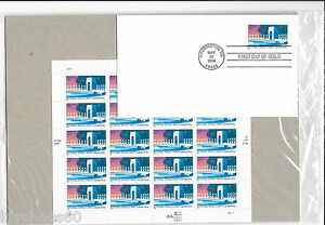 USPS 37c World War II Memorial Stamps Full Pane Mint Scott #3862 First Day Cover