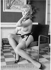 Vicky Kennedy nude legs busty female girl Margaret Nolan photo nylons leggy art