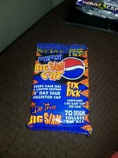 Official Pepsi big slam caps sealed full packet retro ultra, rare 1995