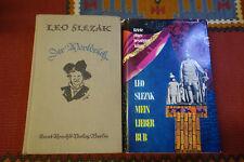 EP603: Leo Slezak Mein Lieber Bub Der Wortbruch 2 Bücher