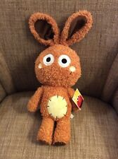 "SEA WORLD SESAME PLACE SESAME STREET 16"" FLUFFSTER JULIA'S BUNNY PLUSH NWT"