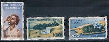 B0099 - COTE DES SOMALIS - Timbres Poste Aérienne N° 20 à 22 Neufs**
