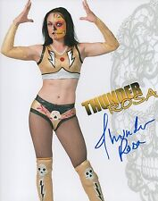 Thunder Rosa Autographed 8x10 Wrestling Photos Signed Women WWE NXT Lucha New 3