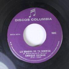 Latin Jazz Bossa Nova 45 Enrique Guzman - La Sombra De Tu Sonrisa / Nuestro Mund