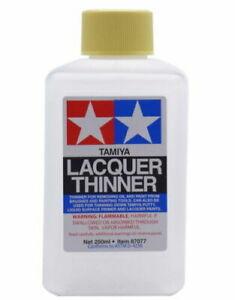 TAMIYA 87077 Lacquer Thinner 250ml Model Kit Paint