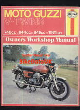Moto Guzzi V-Twin (1974-1978) Haynes Shop Manual 750 850 1000 Le Mans T3 S3 AV28
