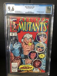 New Mutants 87 CGC 9.6 First Appearance Of Cable 🔑🔑🔑
