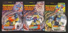Transformers Beast Wars Deluxe Transmetals 2 LOT Iguanus Dinobot Prowl - JC8