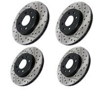 Front Rear Brake Rotors For Ford Fusion ,Lincoln MKZ, Mazda 6 ,Mercury