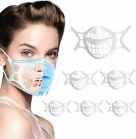 5PCS 3D Face Mask Bracket Mouth Separate Inner Stand Soft Silicone Holder Frame