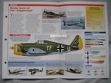Aircraft of the World Card 25 , Group 11 - Republic P-47 Thunderbolt