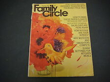 Family Circle Magazine August 1967 Designer Fashions Craft Ideas Salads M1731