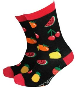 Mens Fruit Gift Socks from Sock Therapy by Smiling Faces