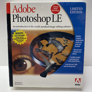 Adobe Photoshop LE Limited Edition - NEW