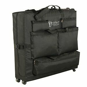 Master Massage Universal Wheeled Table Carry Case Bag With 4 Wheels for Massa...