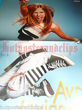 Avril Lavigne Poster wow sexy hot lady, jump