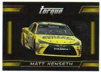 2016 Panini Torque NASCAR Racing Gold Parallel #81 Matt Kenseth