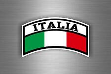 Sticker car auto moto motorcycle aviation military army flag  italy italia