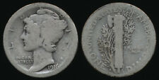 ^^KEY DATE^^ USA 1916-D DIME >> GUARANTEED AUTHENTIC >>SEE PICTURES > NO RESERVE
