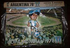 FIFA WORLD CUP ARGENTINA 1978 VINTAGE GAUCHITO PLASTIC POSTER IN RELIEF RARE