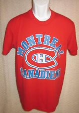 Vintage Montreal Canadiens t-shirt size adult Large by Logo 7