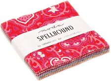 """Spellbound Moda Charm Pack 42 100% Cotton 5"""" Precut Quilt Squares by Urban Chiks"""