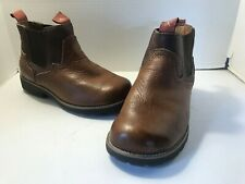 Twisted X Womens Brown Leather Prairie Dog Paddock Boots WPD0001 Size 8M