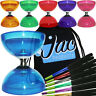 Juggle Dream Cyclone Quartz Triple Bearing Diabolo & Aluminium Diablo Handsticks