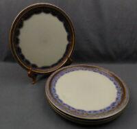 """4 x Bing & Grondahl Copenhagen Porcelain Mexico Dinner Plates 10 1/4"""" #624"""