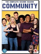 Community Complete Series 2 DVD All Episode Second Season UK Release NEW R2