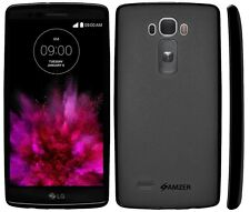 Amzer Quality Exclusive Pudding Matte TPU Case Back Cover For LG G Flex 2 -Black