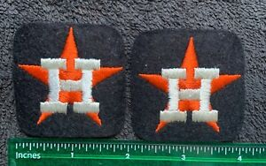Vintage Lot Of 2 Embroidered Houston Astros MLB Baseball Hat Patches