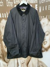 """Men's Barbour Jacket Flyweight Wax Beaumont A67 Black Hunting 2XL Chest 46-48"""""""