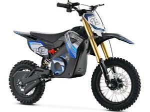 MotoTec 36v Pro Electric Dirt Bike 1000w Lithium , Blue