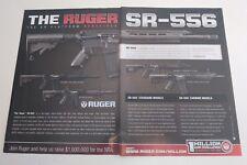 2011 Ruger SR-556 Rifle Gun Print Ad