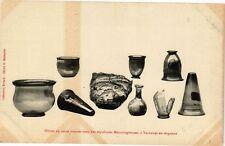 CPA Objets trouvés dans des sépulture Mérovinginnes,Varennes-en-Argonne (240572)