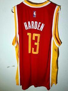 ADIDAS NBA HOUSTON ROCKETS JAMES HARDEN SWINGMAN JERSEY RED SIZE 2XL