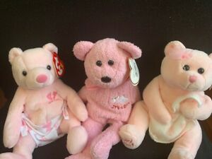 Ty beanie babies It's a Girl 2002-2004 RETIRED Mint with Tag Baby Shower Gift