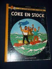 "BD ""TINTIN - COKE EN STOCK"" HERGé (1962) B 31 / CASTERMAN"