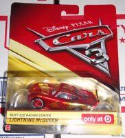 CARS 3 - RUST-EZE RACING CENTER LIGHTNING McQUEEN - Mattel Disney Pixar