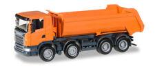 Herpa 306386 Scania R carro de huecos redondos 4 ejes