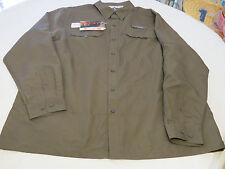 Mens Habit Solar Factor 40+ PCK003 crocodile XL long sleeve sun protection shirt