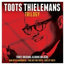 Toots Thielemans TRILOGY Man Bites Harmonica / Time Out For / Soul Of NEW 3 CD