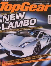 Top Gear magazine 04/2008 featuring Lamborghini Gallardo, BMW M3, AMG, Audi RS4