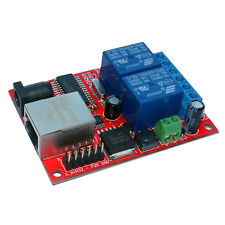 LAN TCP/UDP Ethernet 2 Channel Relay board, WEB Server, Android APP
